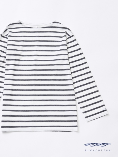 BOAT NECK BORDER LONG SLEEVE T-SHIRT4