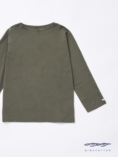 BOAT NECK LONG SLEEVE T-SHIRT5