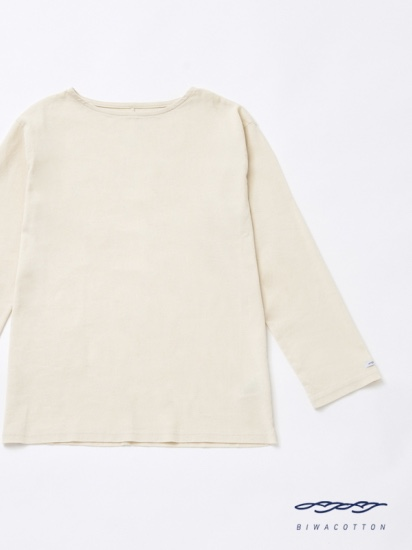 BOAT NECK LONG SLEEVE T-SHIRT6