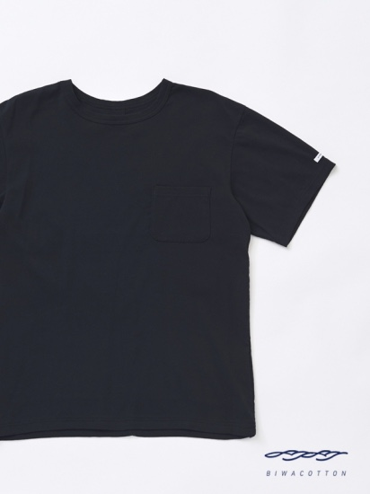 CREW NECK SHORT SLEEVE POCKET T-SHIRT6