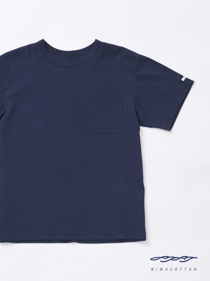 CREW NECK SHORT SLEEVE POCKET T-SHIRT5