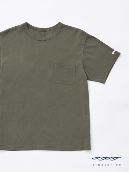 CREW NECK SHORT SLEEVE POCKET T-SHIRT4