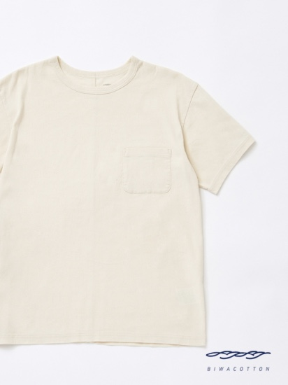 CREW NECK SHORT SLEEVE POCKET T-SHIRT3