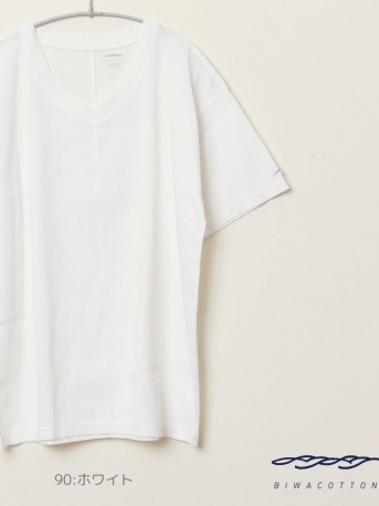 V NECK SHORT SLEEVE T-SHIRT4
