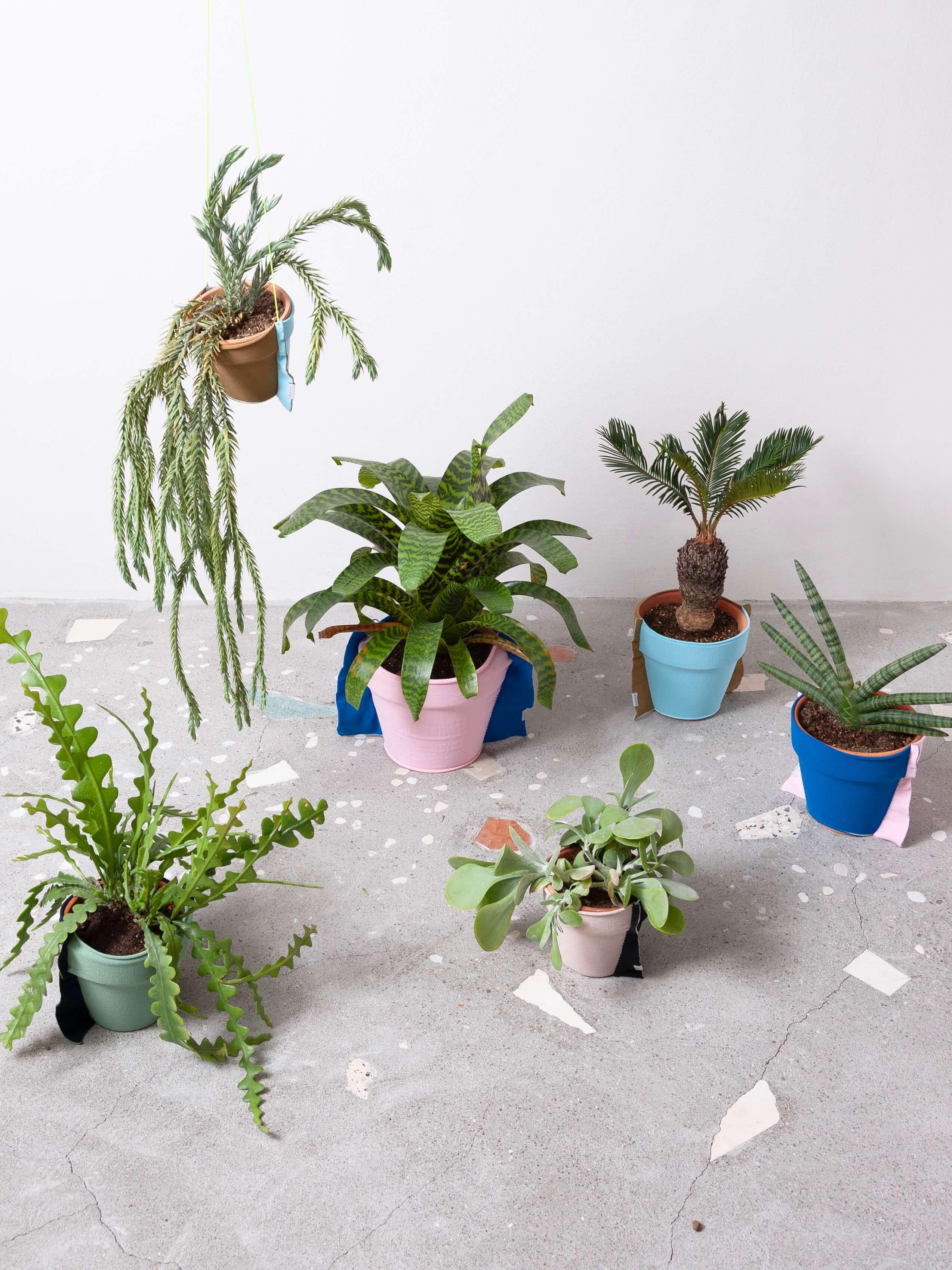 【TRICOTÉ】 HANGING PLANT COVER