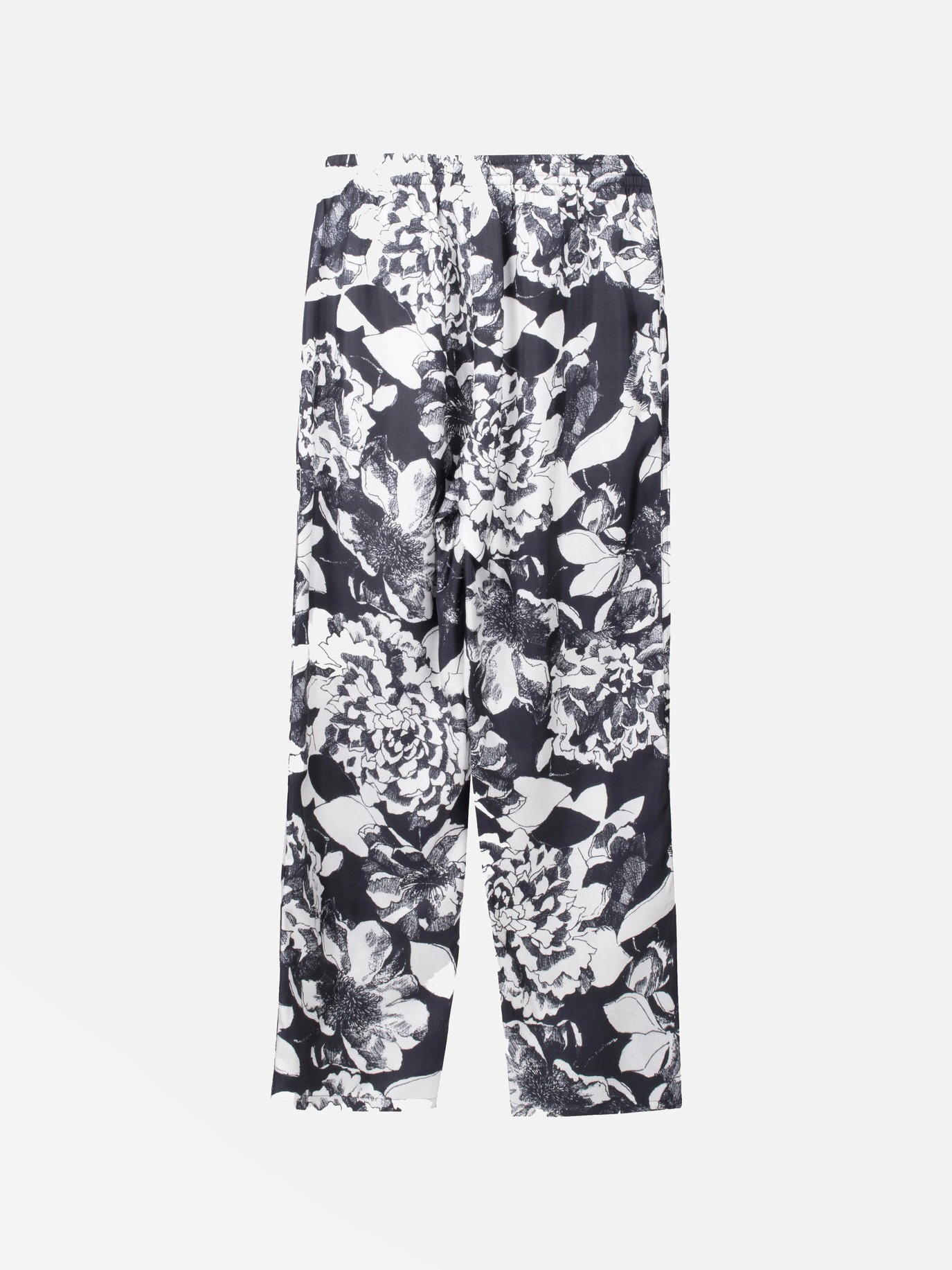 EASY PANTS:Youth Bloom Black5