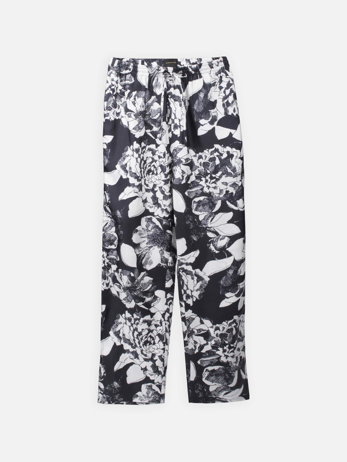 EASY PANTS:Youth Bloom Black4