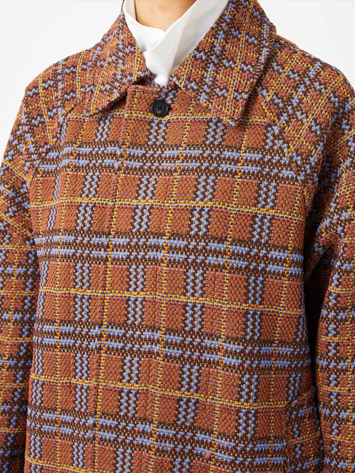 RETRO CHECK TWEED COAT5