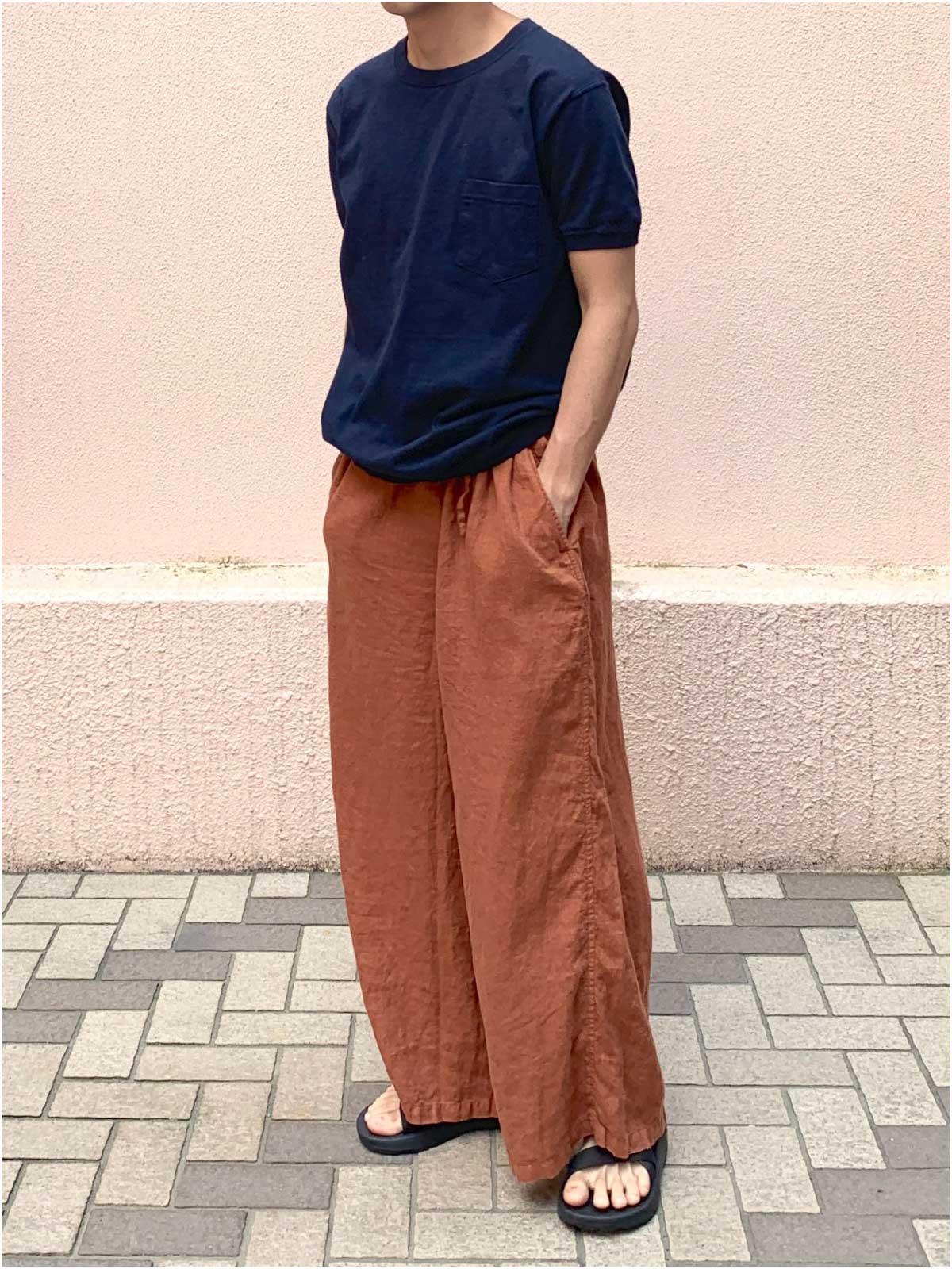 LINEN EASY PANTS2