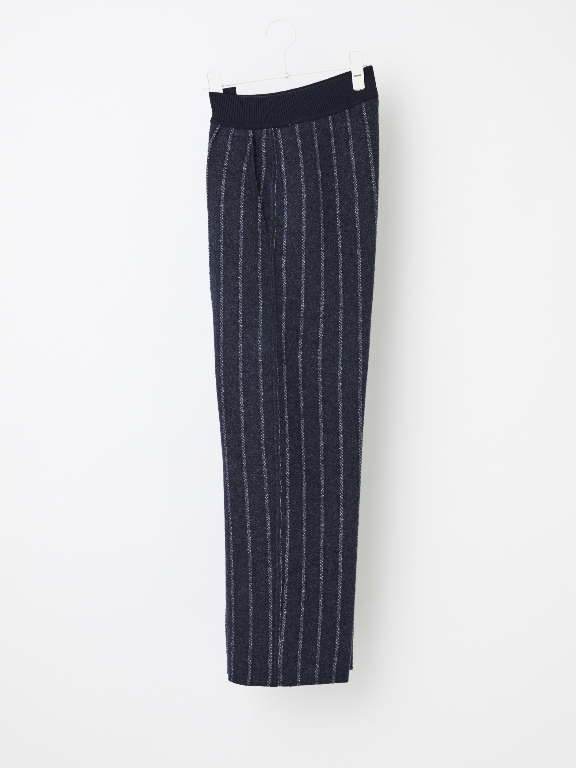 BOILED WOOL KNIT PANT