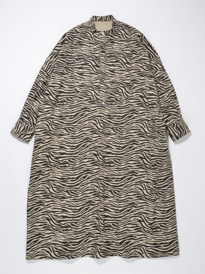 QUILT FRONT DOLMAN SLEEVE LONG ONE-PIECE4