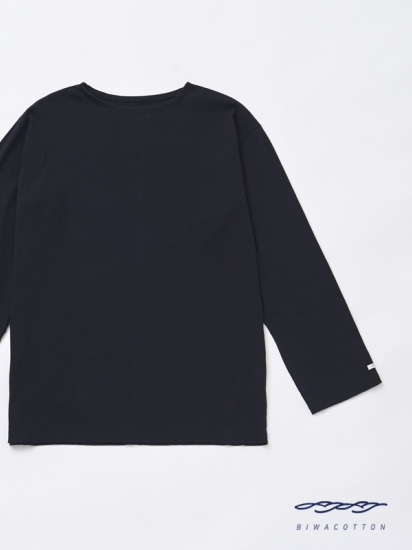BOAT NECK LONG SLEEVE T-SHIRT4