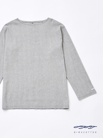 BOAT NECK LONG SLEEVE T-SHIRT2