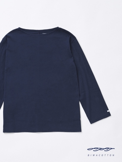 BOAT NECK LONG SLEEVE T-SHIRT3