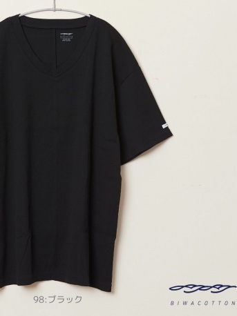 V NECK SHORT SLEEVE T-SHIRT6