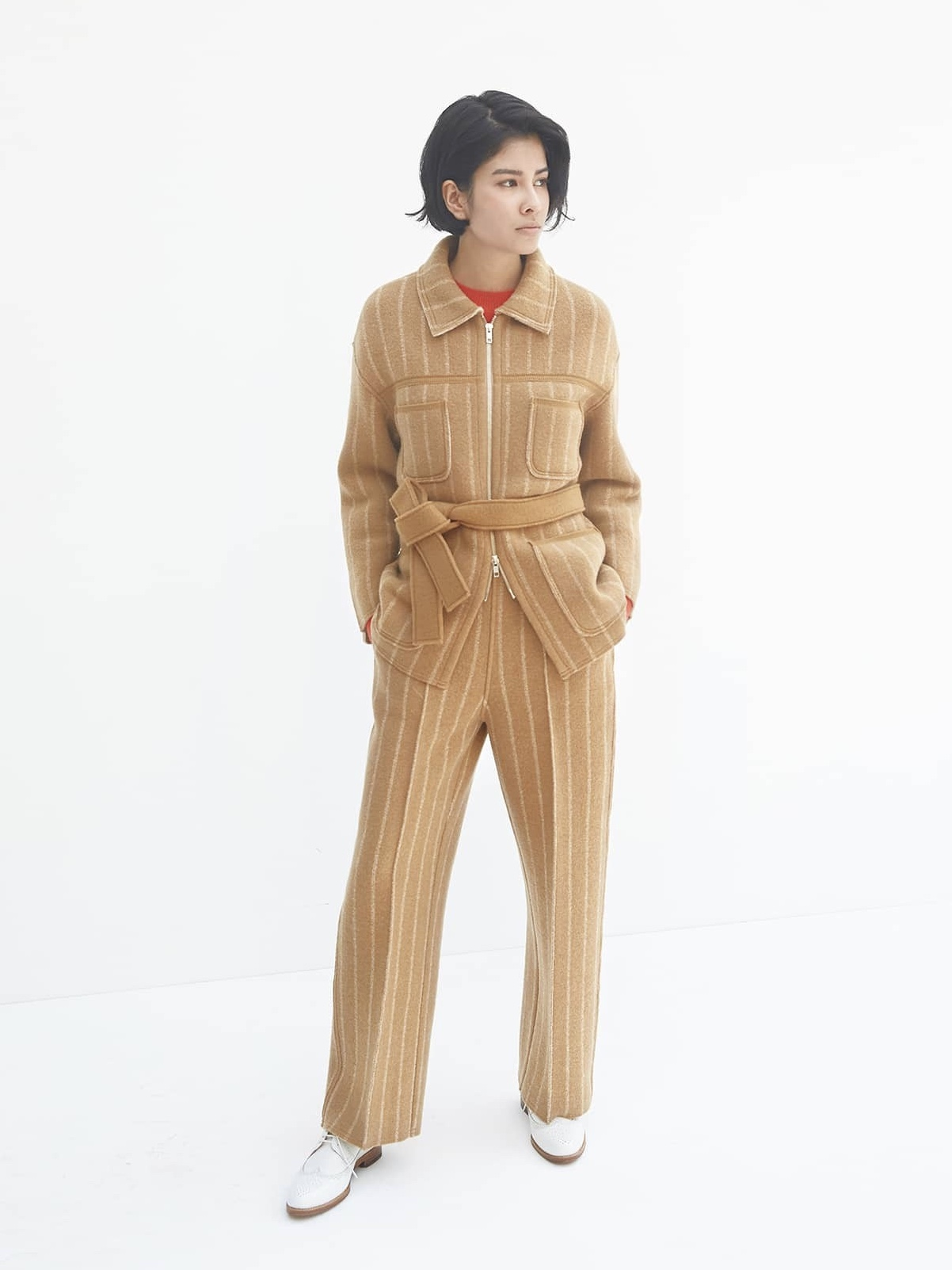 BOILED WOOL KNIT PANT6