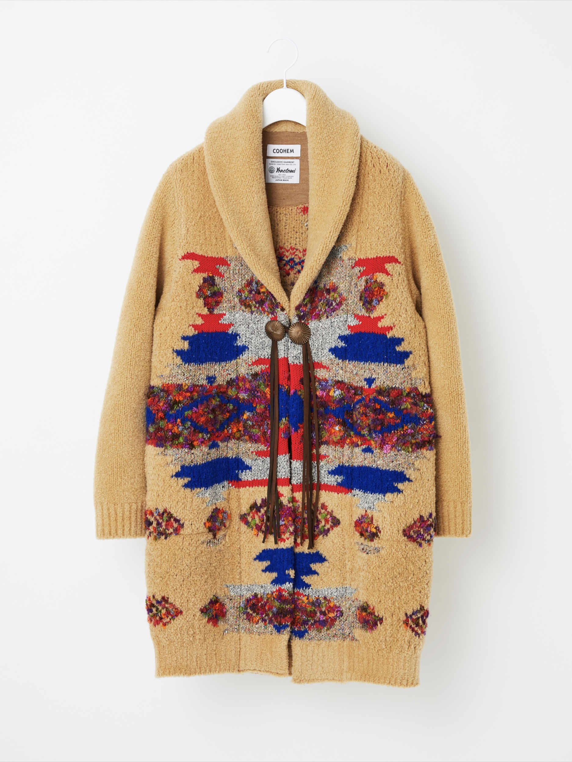 NATIVE JACQUARD COAT