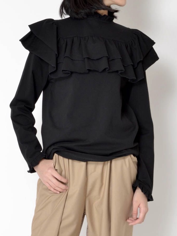 FRILL LONG T-SHIRT3