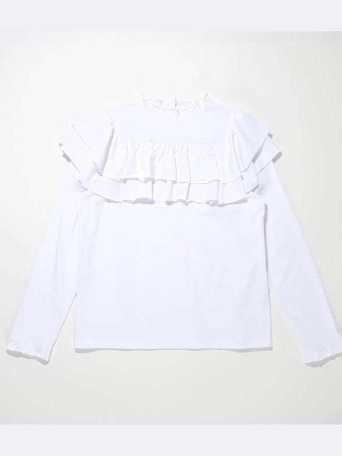 FRILL LONG T-SHIRT4