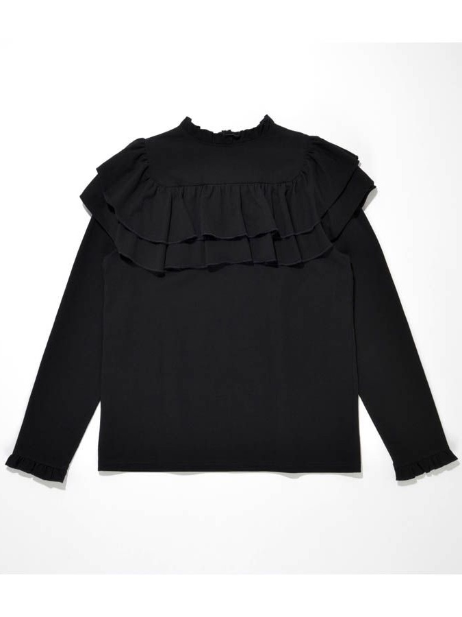 FRILL LONG T-SHIRT6