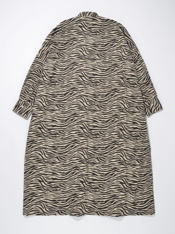 QUILT FRONT DOLMAN SLEEVE LONG ONE-PIECE5